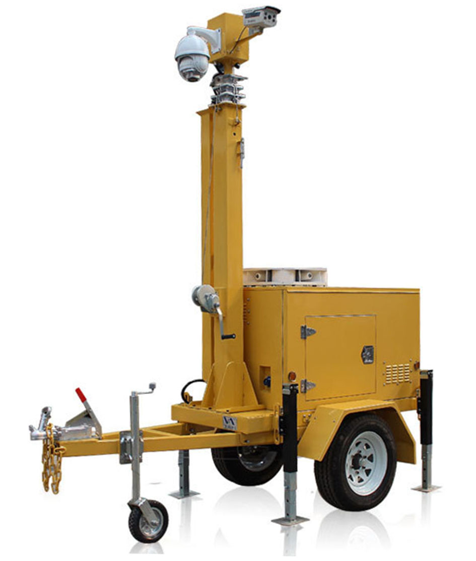 Innovative CCTV Surveillance & Security Trailer